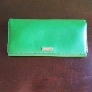 Kate Spade Green Envelope Wallet